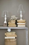 interior design chackboard lamps