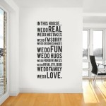 wall text inspiration decoration